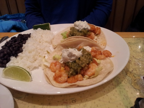 Shrimp Tacos, Yankee Pier Seafood Restaurant