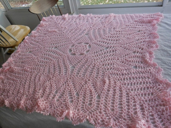 Coats and clark baby heirloom afghan