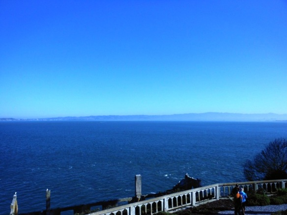 Ocean view from Alcatraz