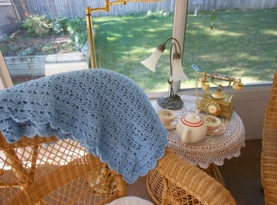 Leisure arts november baby afghan