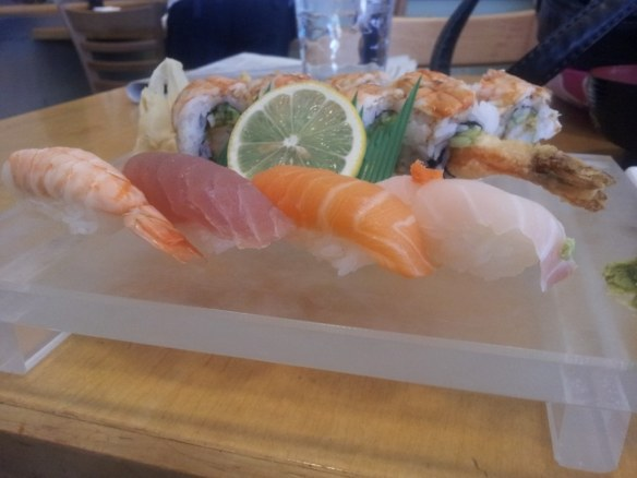 Sushi Lunch, Taigun, Broomfield, Colo.
